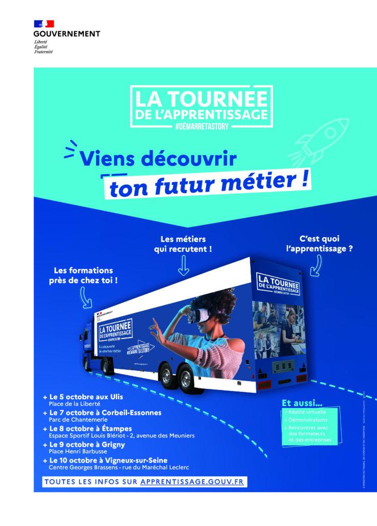 Bus de l'Apprentissage à Corbeil-Essonnes